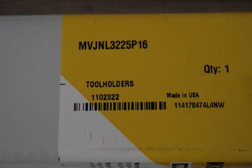 MVJNL 3225 P16 Kennametal Indexable Turning Tool