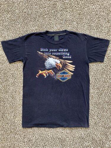 Vintage Harley Davison 3d Emblem Shirt