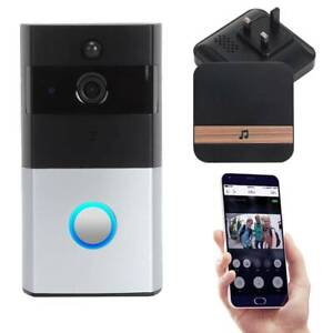 720P-Smart-Video-Doorbell-WiFi-Wireless-Intercom-Door-Bell-Security-Camera-Bell