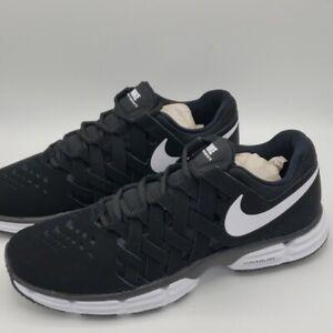 Details about Nike Lunar Fingertrap TR Trainer Shoes Black White Men's Size 11