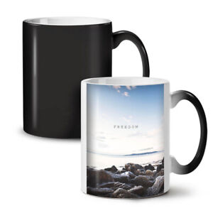 Freedom Sea Life Nature NEW Colour Changing Tea Coffee Mug 11 oz | Wellcoda