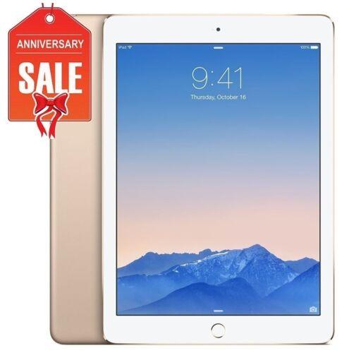 9.7 GOLD GRAY SILVER Apple iPad Air 2 64GB WiFi Cellular UNLOCKED R-D