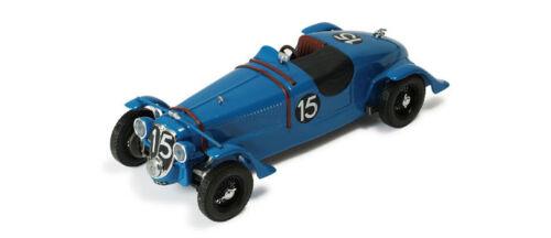 Ixo lm1938 Delahaye 135s # 15 Winner Le Mans 1938-chaboud//tremoulet 1//43 Escala