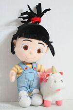 "Despicible Me 12"" Agnus Doll & 4"" Unicorn Plush Toy Doll Set"