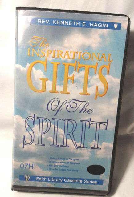 The Inspirational Gifts of the Spirit - 4 Cassettes - Kenneth E. Hagin Sr.