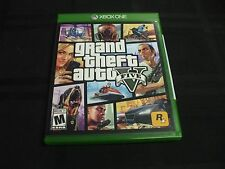 Replacement Case (NO VIDEO GAME) GRAND THEFT AUTO V FIVE 5 XBOX ONE 1 with MAP!