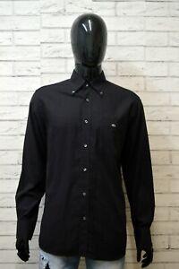 LACOSTE-Uomo-Camicia-Manica-Lunga-Camicetta-Taglia-41-XL-Maglia-Shirt-Man-Hemd