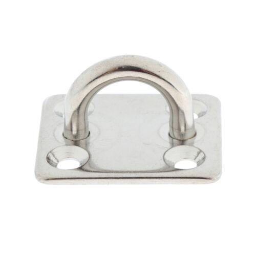 5mm Boot Platz Swivel Pad Augenplatte Sonnenschutz Augen Haken 304 Edelstahl