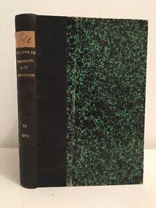 Notiziario Della Societè Francese Di Dermatologia E Di Syphiligraphie 1952