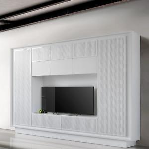Mobile parete soggiorno porta TV Sky moderno salotto cucina ...