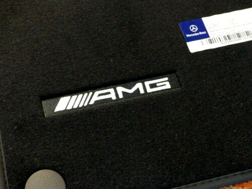 AMG Fussmatten Velours original Mercedes S-Klasse V222 W222 lang Veloursmatten