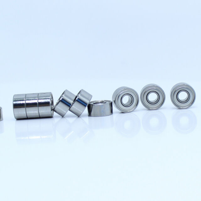 10Pcs Miniature Ball Bearings 693ZZ 3x8x4mm  619//3ZZ