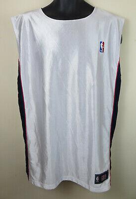 Basket Nba Reversibile Jersey Shiny Bianco Camicia Canotta Atletica Da Uomo Xxl 2xl-mostra Il Titolo Originale Facile E Semplice Da Gestire