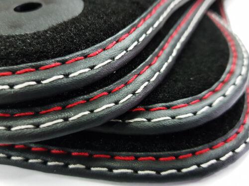 Fußmatten Peugeot RCZ Bj.2010-2016 Original Qualität Nubuk Doppelnaht Velours