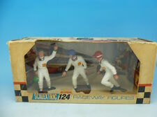 Scalextric 24F/400 124 Drivers set boxed, drivers in mint condition, very very r