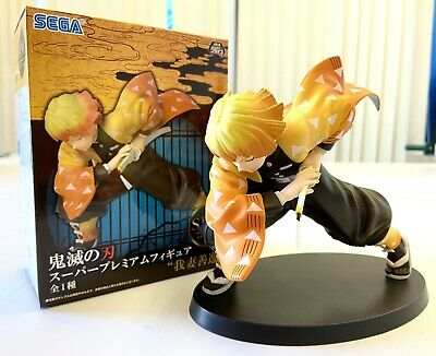 Kimetsu No Yaiba Zenitsu Agatsuma Figure Brand New Boxed Anime Demon Slayer