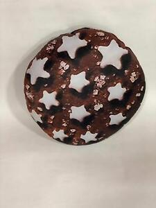 Pan Di Stelle Cuscino.Dettagli Su Cuscino Personalizzato Forma Biscotto Pan Di Stelle Maxi Formato Sagomata