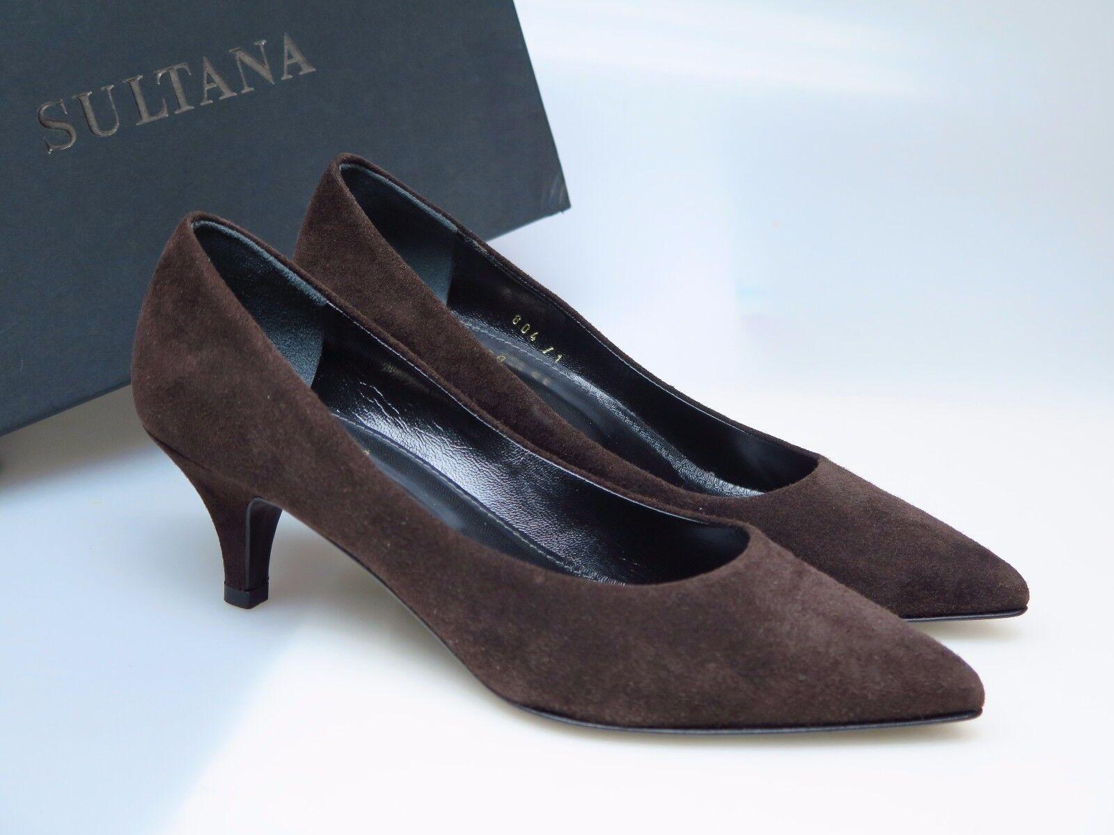 Descuento de la marca Sultana zapatos zapatos señora de diseño zapatos n3308 Sara T. moro camoscio Niza nuevo