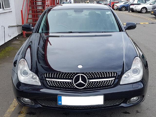Mercedes W219 CLS Calandre Grill Noir Et Chrome Modèle 2004-2007