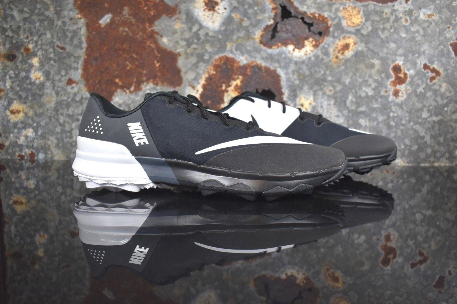 Nuovi uomini nike fi flex golf scorpe 9w bianco nero grigio 849961 001