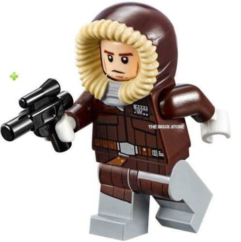 LEGO STAR WARS HAN SOLO PARKA FIGURE NEW 75138-2016 GIFT FAST