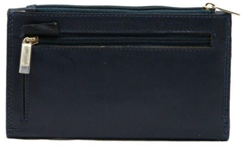 Ladies Womens Leather Purse with Magnetic Popper Opening