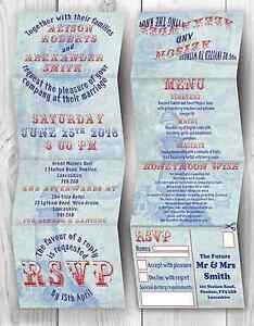 Personalised-handmade-nautique-mariage-inviter-evening-invitation-enveloppe
