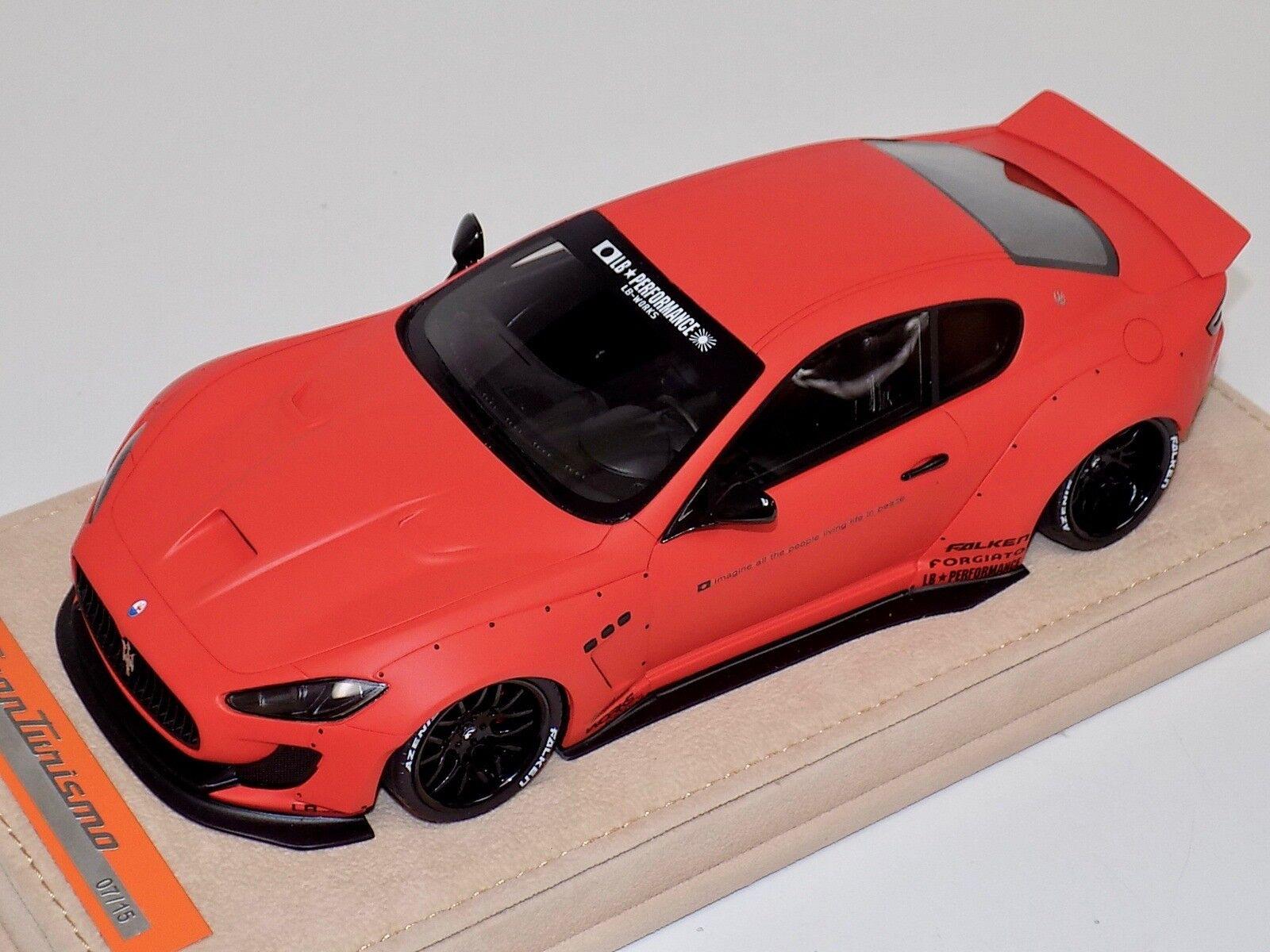 Modelos Maserati GranTurismo Liberty AB caminar Mate CALCOMANÍAS DE NARANJA Alcantara