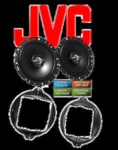 JVC Koax  Lautsprecher für Audi A4² B5 11//1994-10//2000 Hinten 8D