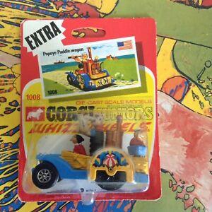 Corgi Juniors Whizzwheels Boutique en stock Popeye Wagon.ex.
