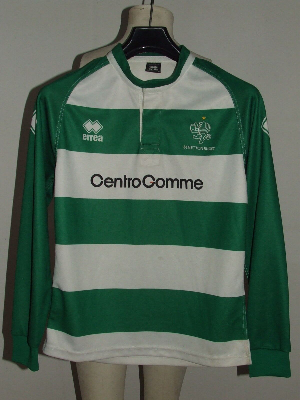 SHIRT TRIKOT MAILLOT RUGBY SPORT BENETTON TREVISO n °26 size S