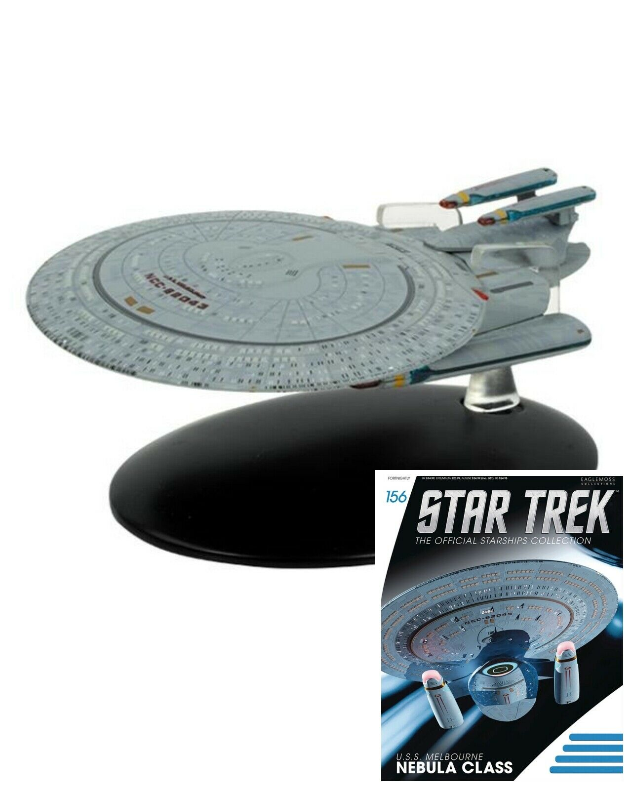 Issue 156: USS Melbourne (Nebula Class) Starship