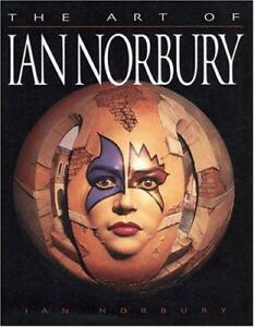Art-of-Ian-Norbury-Sculptures-in-Wood-by-ian-norbury-NEW-Book-FREE-amp-FAST-Del