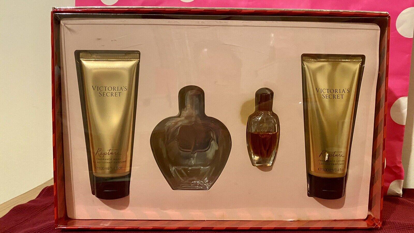 Vintage Victoria S Secret 1994 Perfume Gift Trio Encounter Victoria Rapture For Sale Online Ebay