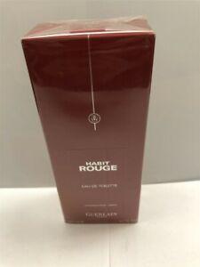 Habit Rouge by Guerlain 6.7 oz/200 ml Eau de Toilette Spray for Men, Sealed!