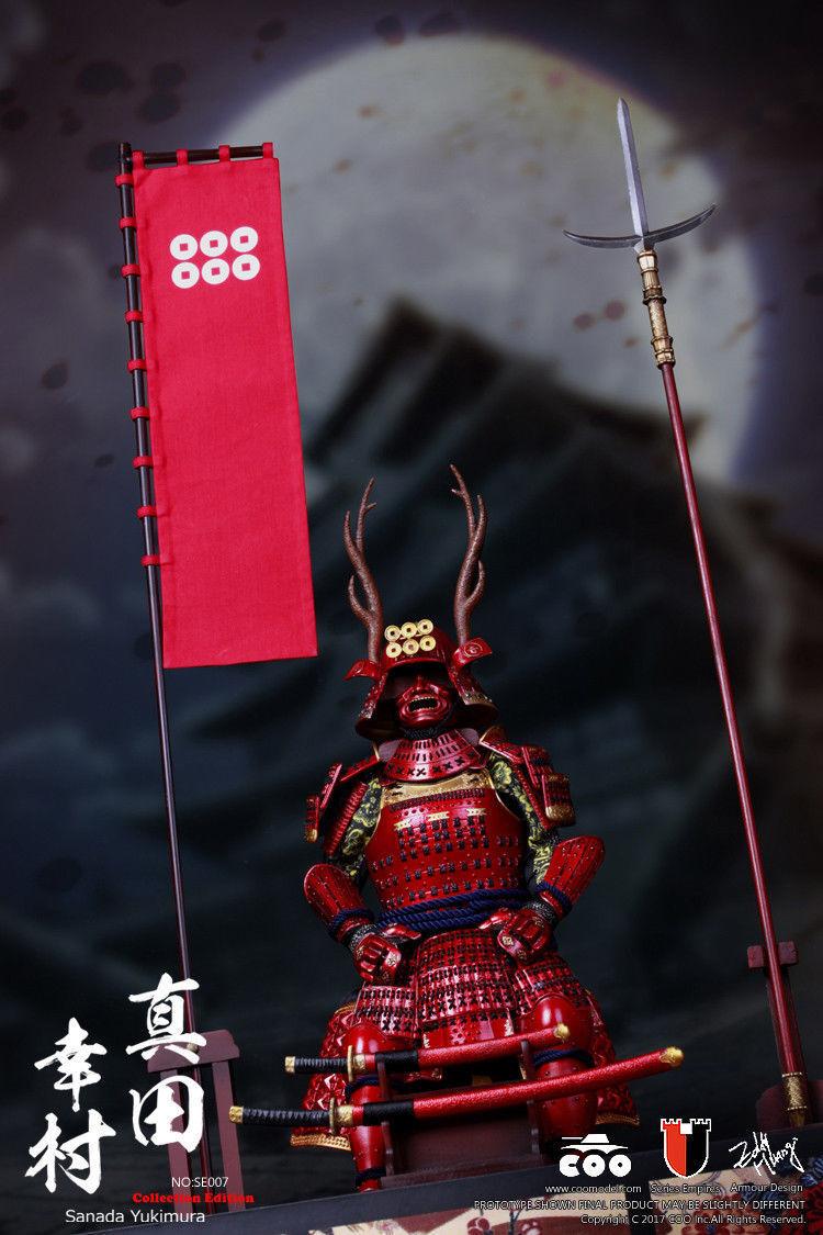 COOMODEL SE007 1/6 Japan's Warring States Sanda Yukimura Deluxe Ver. Figure Toy