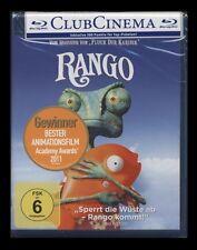 BLU-RAY RANGO - KINO + EXTENDED VERSION - OSCAR BESTER ANIMATIONSFILM ** NEU **