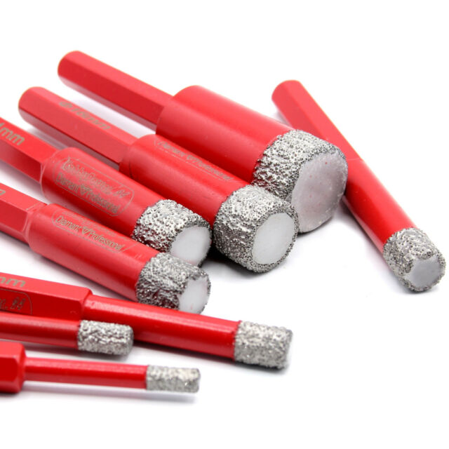 Granit 6-Kant Keramikbohrer Diamantbohrer Fliesenbohrer Marmor Trockenbohrer