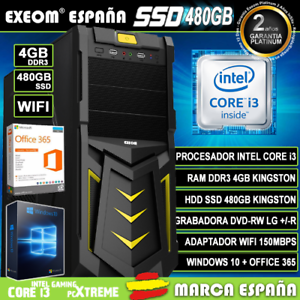 Ordenador-Gaming-Pc-Intel-i3-4GB-SSD-480GB-Wifi-Sobremesa-Windows-10-Office-365