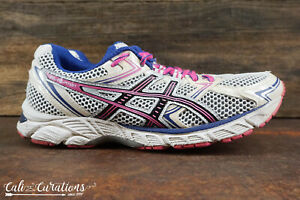 Details about VGC! ASICS Gel-Equation Womens Size 6.5 Running Shoes White Blue Pink