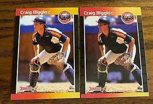 1989 Donruss #561 Craig Biggio RC - Astros HOF