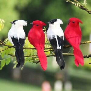 Foam-Feather-Artificial-Parrots-Imitation-Wedding-Decoration-Ornament-CA-b