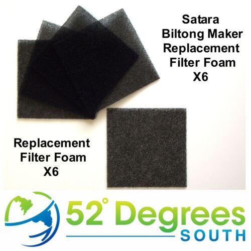 Satara Biltong Maker Biltong Box Replacement Filter Foams