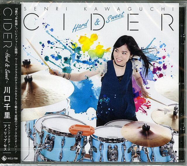 SENRI KAWAGUCHI-CIDER  HARD&SWEET -JAPAN CD G88