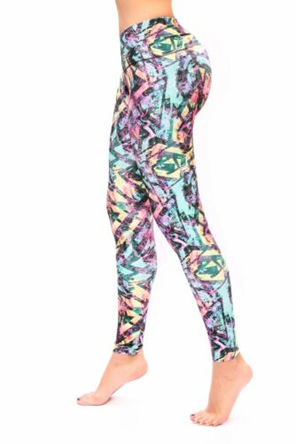 Bon Bon Up Women/'s Leggings with Internal Body Shaper ButtLifter Levantacola1197