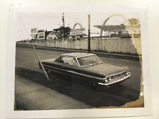 PHOTO ANCIENNE - VINTAGE SNAPSHOT - Car- Unusual -Mac Donald's