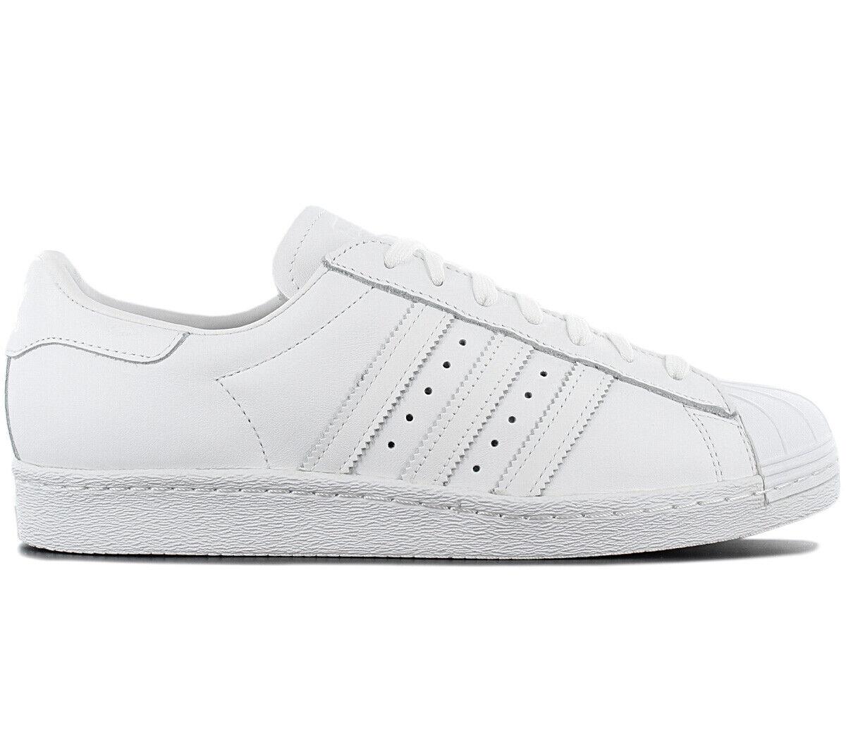 Adidas Originals Superstar 80s Herren Turnschuhe Schuhe S79443 Leder Weiß Turnschuh          Elegantes Aussehen    Ich kann es nicht ablegen