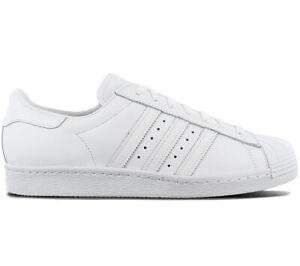 Originals Cuir Baskets Superstar 80s Homme S79443 Adidas Blanc Chaussures dq0gd6