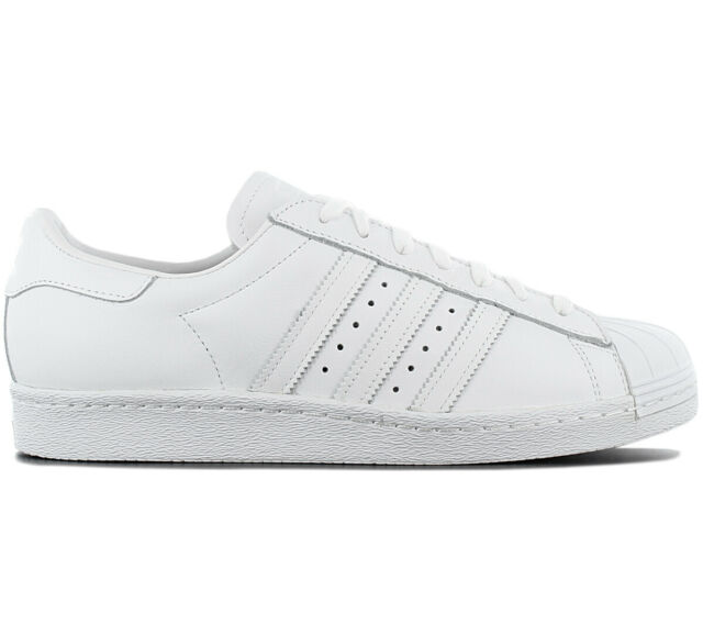 new styles d2dfe 9d0ad Adidas Originals Superstar 80s Men s Sneakers Shoes S79443 Leather White