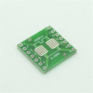 10pcs-sop14-SSOP-14-TSSOP-14-to-dip14-PCB-SMD-DIP-Adapterplatte-Pitch-0-65-1-27mm